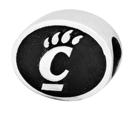 Sterling Silver University of Cincinnati Bead