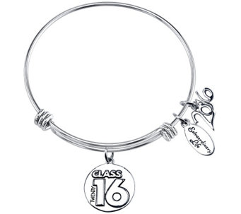 Extraordinary Life Sterling Class of 2016 Adj.Bangle - J341665