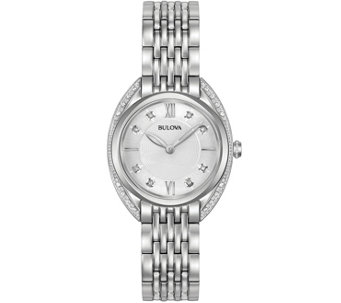 Bulova Women's Diamond Accent Watch - J343865