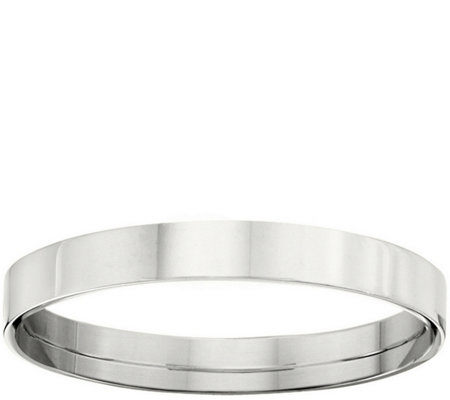 Women's Platinum 3mm Flat Comfort Fit Wedding Band
