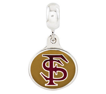 Sterling Silver Florida State University DangleBead - J314966