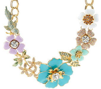 """As Is"" Joan Rivers Limited Edition Garden Fantasy Necklace - J328866"