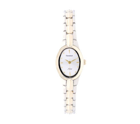 Armitron NOW Ladies Dress Bracelet Watch with White Dial
