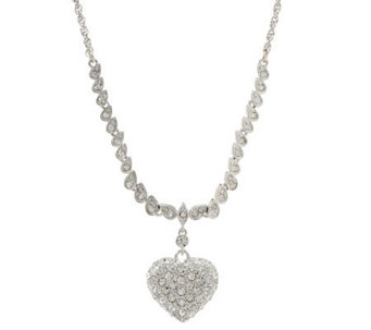 KJL Pave' Heart Necklace - J264767