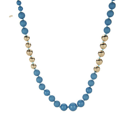 Linea by Louis Dell'Olio Mixed Bead Necklace