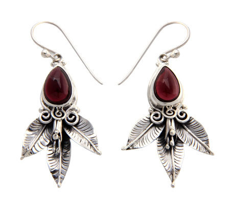 "Novica ArtisanCrafted Sterling ""Beautiful Temptation"" Earrings"