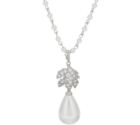 """As Is"" The Elizabeth Taylor La Peregrina PearlNecklace"