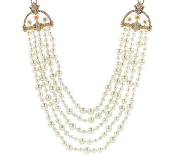 """As Is"" Joan Rivers Estate Style Simulated Pearl 23"" Necklace - J333967"