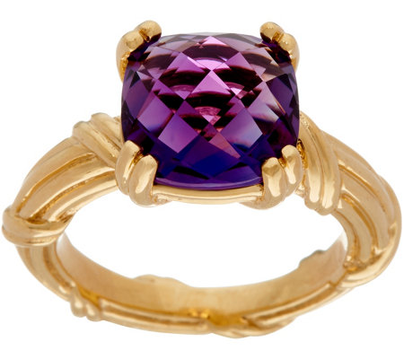 Peter Thomas Roth 18K Gold & Amethyst Gemstone Ring