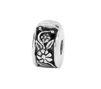 Prerogatives Sterling Hinged Flower Clip Bead - J108768