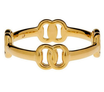 """As Is"" Oro Nuovo Small Status Link Bangle, 14K Gold - J290668"