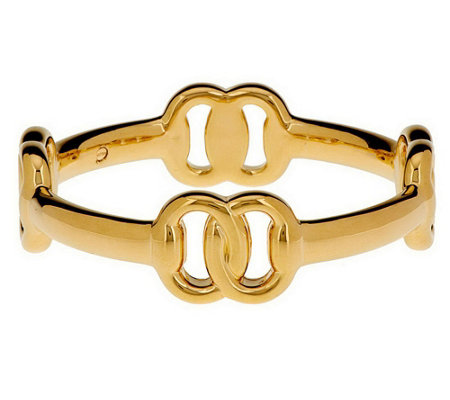 """As Is"" Oro Nuovo Small Status Link Bangle, 14K Gold"
