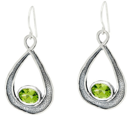Sterling 2.00 cttw Pear Shaped Drop Earrings by Or Paz