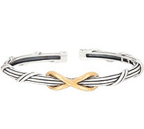 Peter Thomas Roth Sterling Silver & Clad Two-Tone Infinity Cuff - J353268