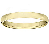 Men's 14K Yellow Gold 3mm High Polish Comfort Fit Wedding Band - J379268