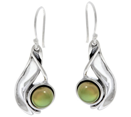 Hagit Sterling Silver Cultured Pearl Drop Earrings