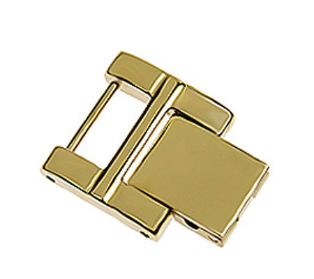 Ecclissi Stainless Steel Opal Facets Watch Extender Clasp