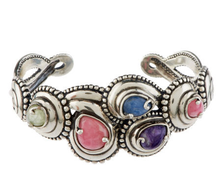 Carolyn Pollack Sterling Windsong Cuff Bracelet