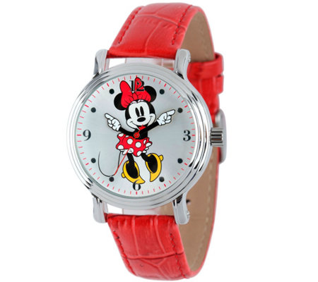 Disney Minnie Mouse Women's Vintage-Style Watch