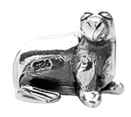 Prerogatives Sterling Sea Lion Bead