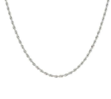 "Steel by Design Rope 24"" Chain Necklace"