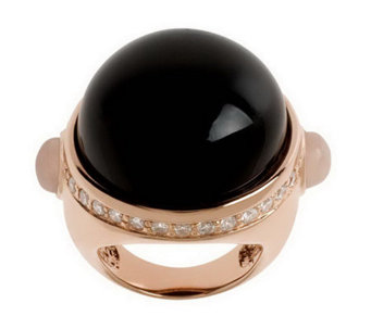 Bronzo Italia Bold Gemstone & Crystal Ring - J312970