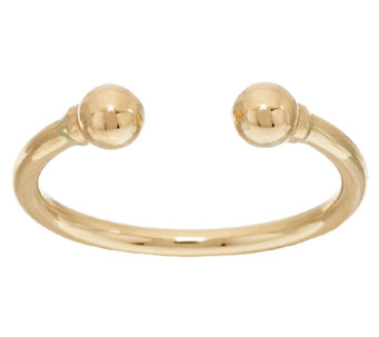 EternaGold Polished Bead Ring 14K Gold - J325870