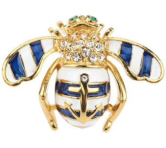Joan Rivers Anchors Away Bee Pin - J287371