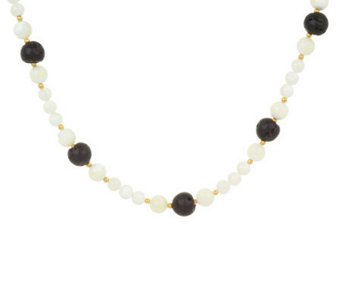 Lee Sands Lava Rock & Mother-of-Pearl Necklace - J302771