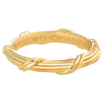 Peter Thomas Roth 18K Gold Signature Classic Band Ring - J343771