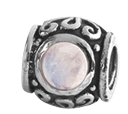 Prerogatives Sterling Moonstone Bead