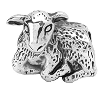 Prerogatives Sterling Lamb Bead