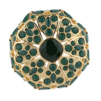 Luxe Rachel Zoe Floral Pave' Lace Pin/Enhancer
