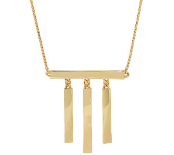 Linea by Louis Dell'Olio 3 Bar Necklace - J325472
