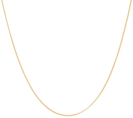 """As Is"" Vicenza Gold 16"" Foxtail Chain Necklace 14K 1.1g"