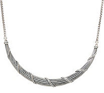 "Peter Thomas Roth Sterling Silver 20"" Collar Necklace, 35g - J353272"