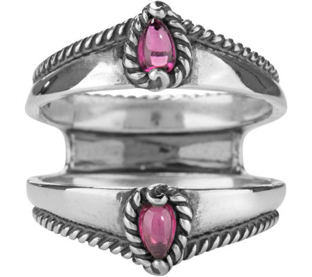 Carolyn Pollack Possibilities Rhodolite GarnetRing Guard