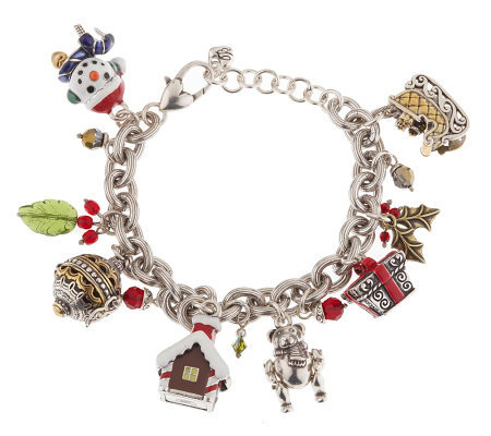 brighton holiday frolic charm bracelet page 1