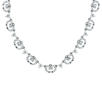 Judith Ripka Sterling 18.60 ct tw Diamonique 118 Facet Necklace - J288473