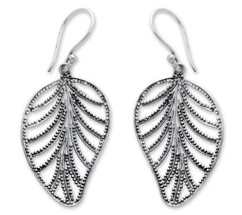 "Novica Artisan-Crafted Sterling ""Nature's Gift""Earrings - J303873"