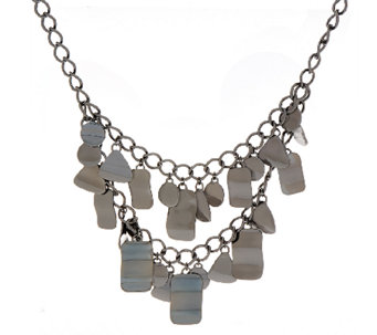 Linea by Louis Dell'Olio Bold Geometric Shapes Necklace - J325473