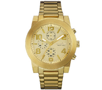 Caravelle New York Men's Goldtone Dress Bracelet Watch - J339773