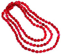 "Lola Rose Ruby Rae 56-1/2"" Beaded Necklace - J348573"