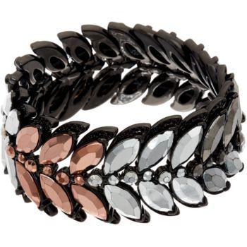 LOGO Links by Lori Goldstein Feather Stretch Bracelet