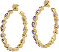 Melinda Maria Hoop Earrings - Eva - J352173