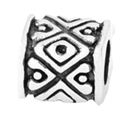 Prerogatives Sterling Tribal Design Bali Bead