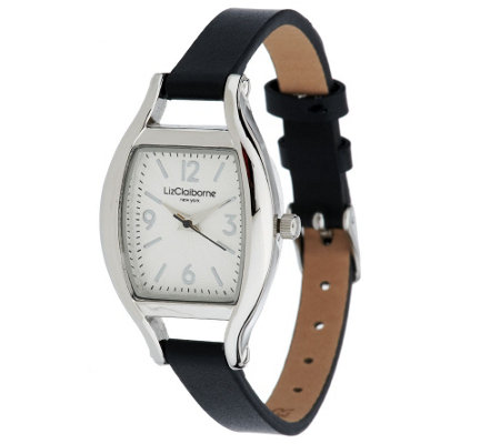 Liz Claiborne New York Thin Strap Watch