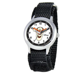 Disney Tigger Stainless Steel Time Teacher Watch - J308274