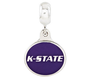 Sterling Silver Kansas State University DangleBead - J314974