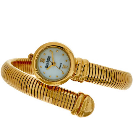"""As Is"" Joan Rivers Tubogas Coiled Wrap Watch"